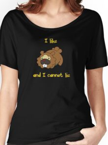 I Like Bidoof and I Cannot Lie Women's Relaxed Fit T-Shirt