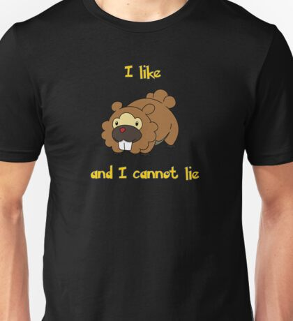 I Like Bidoof and I Cannot Lie Unisex T-Shirt