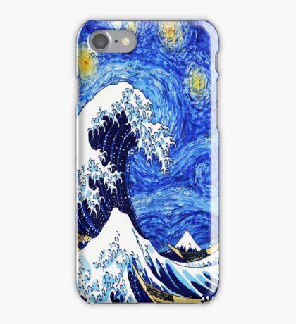Starry Great Night iPhone Case/Skin
