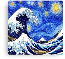 Starry Great Night Canvas Print