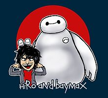 Hiro and Baymax by moysche