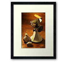 Model S B - Mincer Framed Print