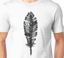 Textured Feather of a Bird Unisex T-Shirt
