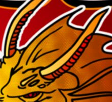 Camelot Dragons - Small Crest Sticker