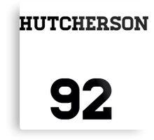 Josh Hutcherson Jersey Metal Print