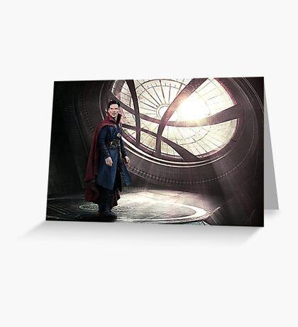 Doctor Strange Sanctum Sanctorum Greeting Card
