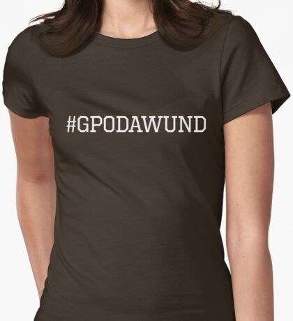 GPODAWUND (Sports White) Womens Fitted T-Shirt
