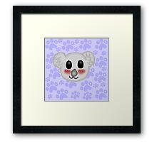 Kawaii Koala Framed Print