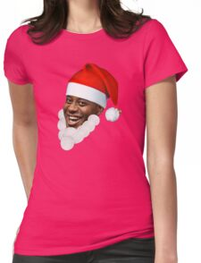 Ainsley Harriott Santa Womens Fitted T-Shirt