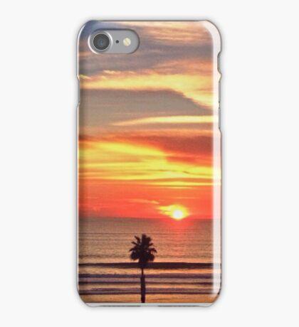 Oceanside Goldenhour iPhone Case/Skin