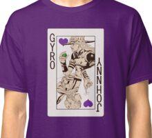 Gyro Zeppeli - Jack of Hearts Classic T-Shirt