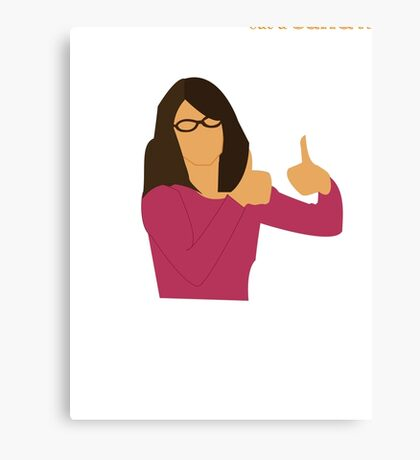 Liz Lemon Canvas Print