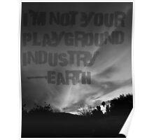 Unsilent Earth - Punk Variation Poster