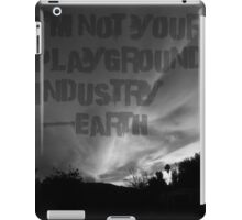 Unsilent Earth - Punk Variation iPad Case/Skin