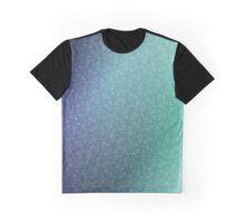 Gradient Web Graphic T-Shirt