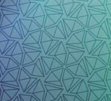 Gradient Web Sticker