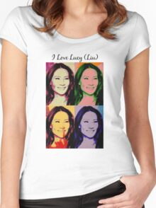 I Love Lucy (Liu) Women's Fitted Scoop T-Shirt