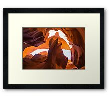 Shaped by Nature - Travel Photography Framed Print