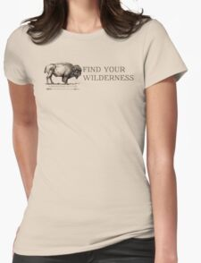 Find Your Wilderness Womens Fitted T-Shirt