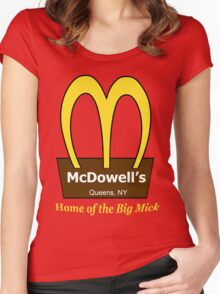 McDowell's Women's Fitted Scoop T-Shirt