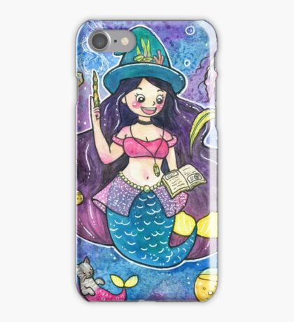 Witchy Mermaid iPhone Case/Skin