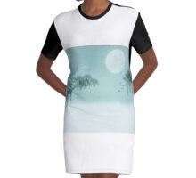 A Winters Tale Graphic T-Shirt Dress