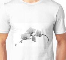 Digital Oil Painting Orchid Unisex T-Shirt