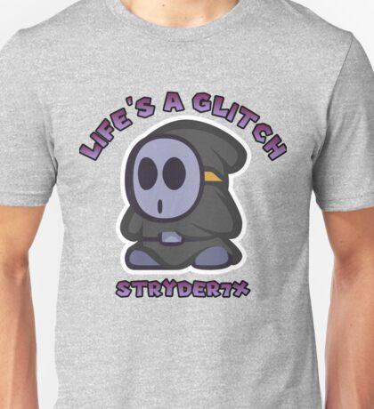 """Life's a Glitch Stryder7x"" Anti Guy Unisex T-Shirt"