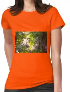 Journey to Light Womens Fitted T-Shirt