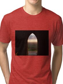 Dusk in Somerset Tri-blend T-Shirt