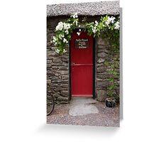 Stone Cottage, Ireland  Greeting Card
