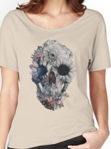 Floral Skull 2 Women's Relaxed Fit T-Shirt