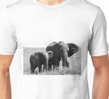 African Elephants Unisex T-Shirt