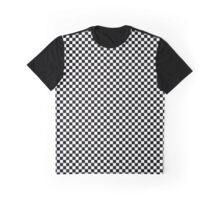 Checkerboard Graphic T-Shirt