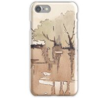 The Lake of the Dismal Swamp iPhone Case/Skin