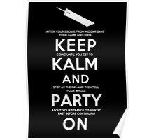 Keep Kalm Poster