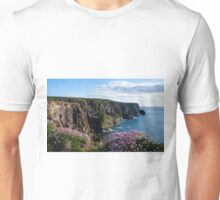 Sea Pink On The Cliffs Unisex T-Shirt