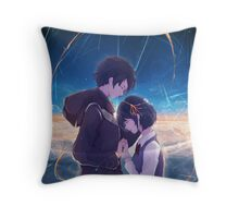 Kimi No Na Wa - Your Name love art Throw Pillow