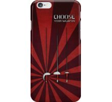 Fencing - Choose your weapon iPhone Case/Skin