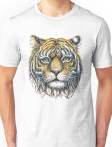 tiger face illustration  Unisex T-Shirt