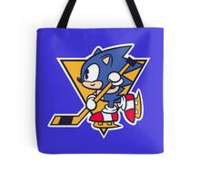 Blue Blurs Tote Bag