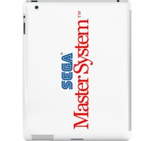 SEGA Master System Logo (white background) iPad Case/Skin