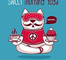 Sweet Morning Yoga by moryachok
