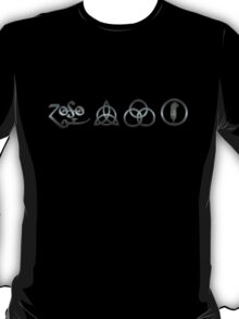 ANCIENT PAGAN SYMBOLS - REEL STEEL T-Shirt
