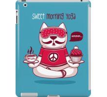 Sweet Morning Yoga iPad Case/Skin