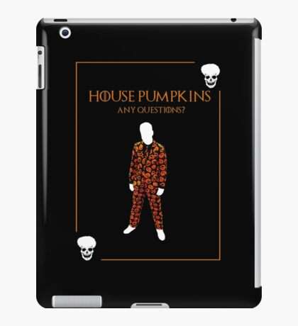 House Pumpkins iPad Case/Skin