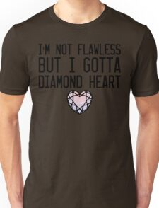 Diamond Heart Unisex T-Shirt