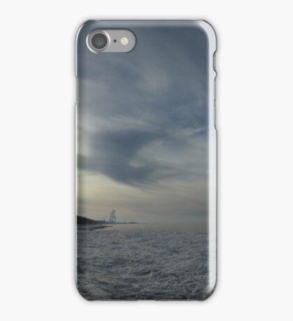 frozen lake view iPhone Case/Skin