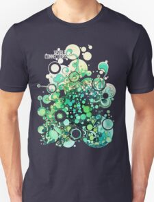 Visible Connections - Watercolor and Pen Art T-Shirt