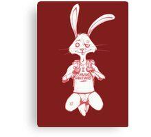 Atheist Easter Bunny Canvas Print